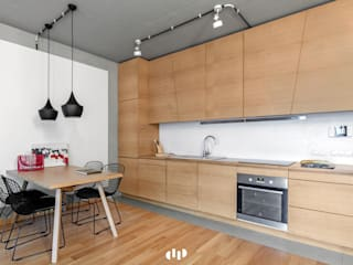 scandinavian Kitchen by dziurdziaprojekt