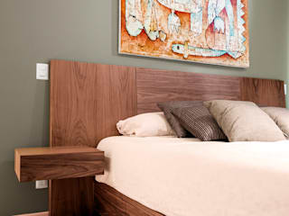Modern Bedroom by Estudio Negro Modern