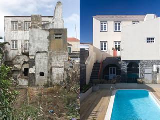 back facade:   por ARCO mais - arquitectura e construção