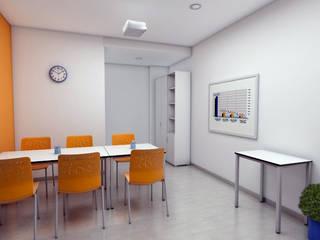 Pepa Navarro Interiorismo Minimalistische Schulen