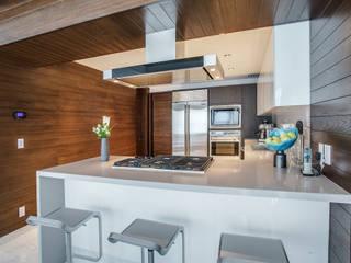 Pent-house LAHIA: Cocinas de estilo  por Art.chitecture, Taller de Arquitectura e Interiorismo 📍 Cancún, México.