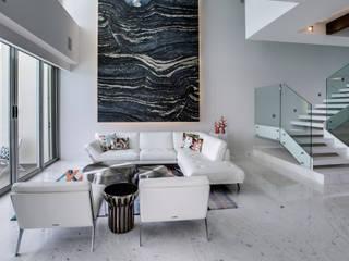 Art.chitecture, Taller de Arquitectura e Interiorismo 📍 Cancún, México. Modern Living Room