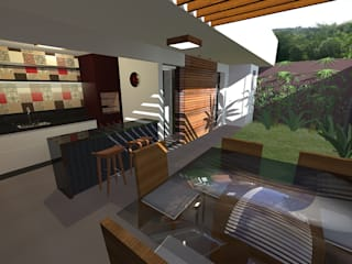 Projeto de Reforma e Ampliação Residencial por Oficina Arquitetura e Construções Moderno