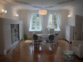 Traugutta 80 Nowoczesne domowe biuro i gabinet od woźny.com Nowoczesny