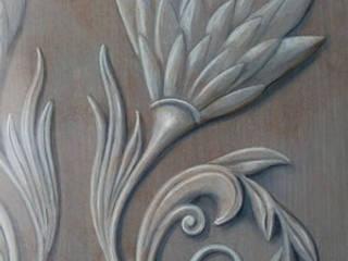 Création personnelle à l'acrylique: Murs de style  par Jeux d'Ombres