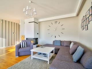 homify Moderne woonkamers