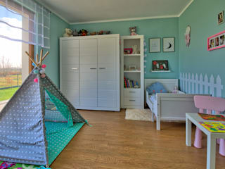 Детская комната в стиле модерн от Biuro Projektów MTM Styl - domywstylu.pl Модерн