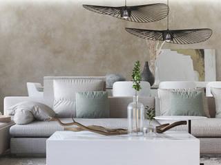 DZINE & CO, Arquitectura e Design de Interiores의  거실
