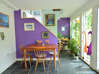 Porthcothan Responsive Home Innes Architects Dining room