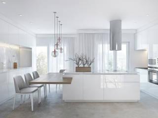 COZINHA: Cozinhas  por DZINE & CO, Arquitectura e Design de Interiores