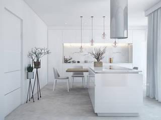 Cuisine moderne par DZINE & CO, Arquitectura e Design de Interiores Moderne
