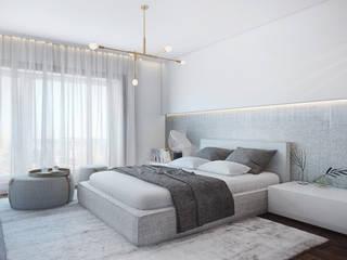 DZINE & CO, Arquitectura e Design de Interiores의  침실