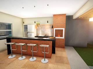 Cocinas de estilo moderno de Pedro Paludetto - Arquitetura e Interiores Moderno