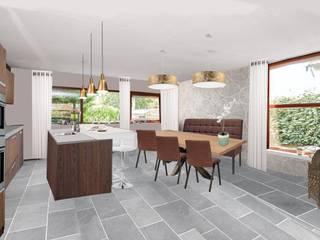 Open keuken:   door Sabka Design