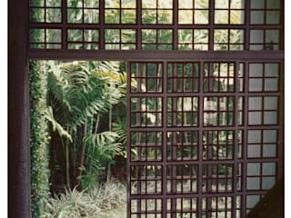 R+P Jardines de estilo industrial