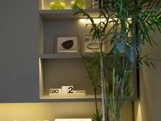 Vista mueble TV Comedores modernos de Estudio de iluminación Giuliana Nieva Moderno