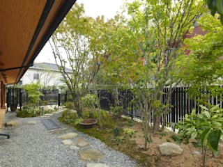 Asian style garden by でんホーム株式会社 Asian