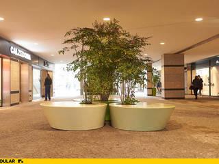 MOODULAR Moderne Einkaufscenter