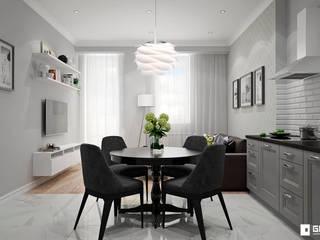 Livings de estilo escandinavo de GM-interior Escandinavo