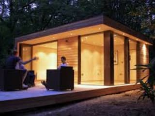 studios de jardin Maisons modernes par home wood Moderne