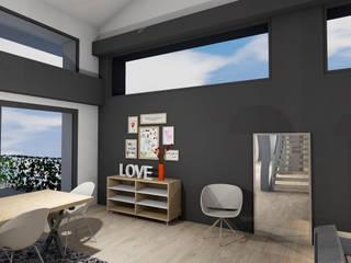 Agencement & Décoration d'un séjour : Salle à manger de style  par Laura Djabourian Architecture d'intérieur