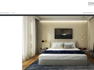 DZINE & CO, Arquitectura e Design de Interiores ห้องนอน