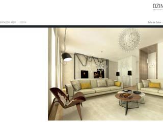 DZINE & CO, Arquitectura e Design de Interiores ห้องนั่งเล่น