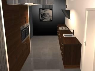 Projet de maison contemporaine ouverte sur l'extérieure Cuisine moderne par MY DECORUM Moderne