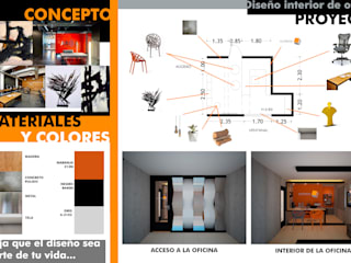 Constructora Asvial S.A de C.V. Office spaces & stores Besi/Baja Orange