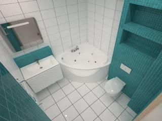 ЯРКИЙ МИНИМАЛИЗМ: Ванные комнаты в . Автор – SEGMENT-STUDIO Борисов Александр