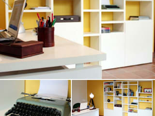 Modern Study Room and Home Office by OGARREDO Modern