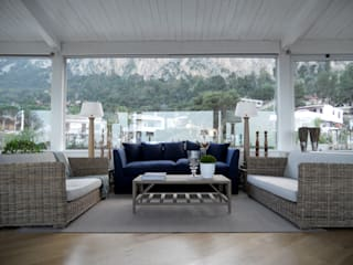Living room by EXCELSIOR HOME INTERIORS, Mediterranean