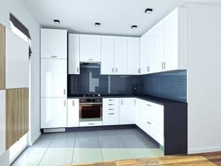 Wizualizacja kuchni: styl , w kategorii Kuchnia zaprojektowany przez Jaku Design