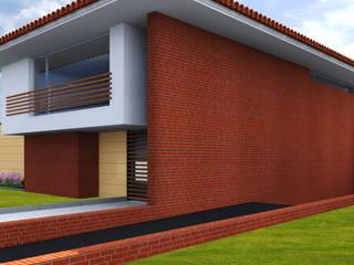 """Moradia 5Q """"Barnard"""" por Ideas4project"""