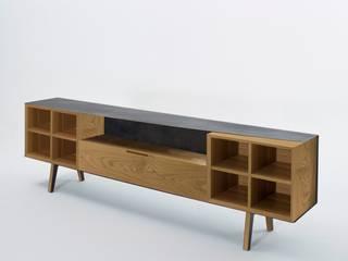 MADIA SKIN di Studio Architettura e Design Giovanna Azzarello Minimalista Legno massello Variopinto