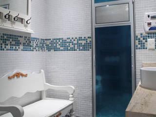 Sauna - Residência Alphaville Tamboré 3 Studio 262 - arquitetura interiores paisagismo Banheiros modernos