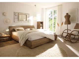 Sunchairs GmbH & Co.KG BedroomBeds & headboards Gỗ
