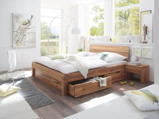Sunchairs GmbH & Co.KG BedroomBeds & headboards Wood