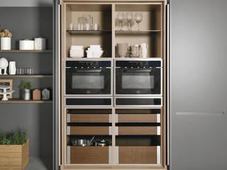 Modelo de cozinha Extra da Doimo Cucine: Cozinhas  por Grupo Emme Cozinhas,Moderno