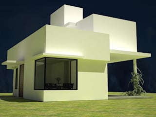 Minimalist house by Estudio Marcos Fernandez Minimalist