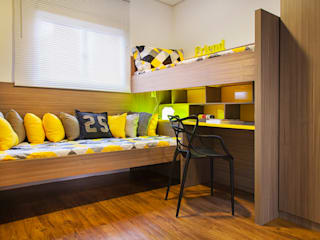 Nursery/kid's room by carolina lisot arquitetura, Modern