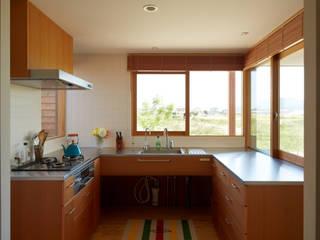ダイチノイエ: toki Architect design officeが手掛けたキッチンです。