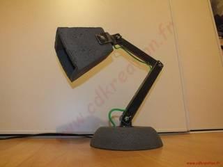 LAMPE BUREAU DESIGN INDUSTRIEL ARTICULEE par CdrikDesign&Kreation Industriel