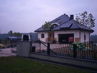 Dom Seweryna (mała) G2 - stylowy szyk i oryginalny charakter Klasyczne domy od Pracownia Projektowa ARCHIPELAG Klasyczny