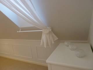 Metamorfoza sypialni Rustykalna sypialnia od Koncepcja Wnętrz Rustykalny