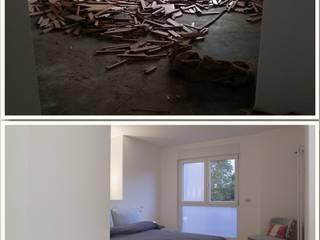 Nuova vita alla camera da letto:  in stile  di Enne Costruzioni srl