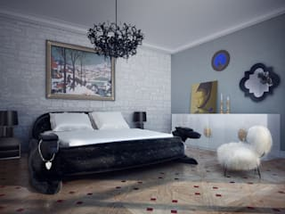 Eclectic style bedroom by MM-STUDIO Eclectic