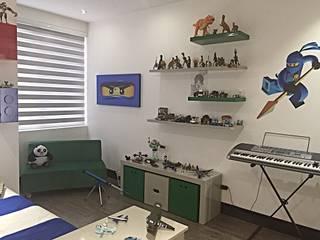 ea interiorismo Modern nursery/kids room Multicolored