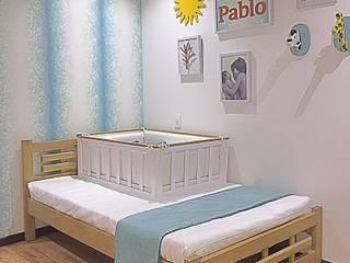 ea interiorismo Modern nursery/kids room Wood Blue