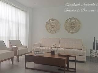 ea interiorismo Classic style living room Wood Beige